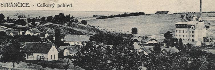Historická fotografie Strančic